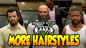 personalizing your hairstyle for a younger look gta 5 more character hairstyles michael trevor u0026 franklin gta