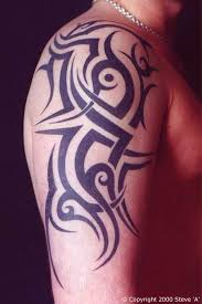 upper arm lion tattoo design for men real photo pictures images