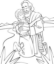 prodigal son coloring pages aecost net aecost net