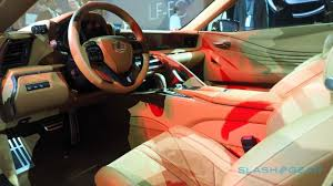 lexus cars interior lexus lc 500 does the impossible concept made real slashgear