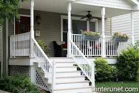 Wooden Front Stairs Design Ideas Front Stairs Curved Front Steps Mod Concrete Extended To Right