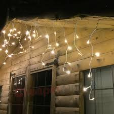 Outdoor Twinkle Lights by 490 Led 20m Lumineo Outdoor Twinkle Icicle Lights 8 Function