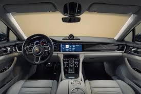 porsche turbo interior 2017 porsche panamera turbo fastest luxury sedan in the world