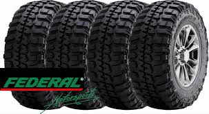 Federal Couragia Mt Tread Life 4 New 35 12 50 17 Federal Couragia M T Mud Terrain Owl Tires Lt