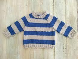 Sweater Toddler Knitting Pattern Striped Raglan Sweater Cardigan Optional