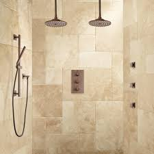 labelle thermostatic dual shower system hand shower and 3 jets