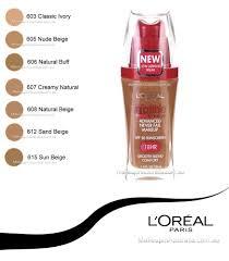 l 39 oreal paris loreal infallible make up advanced never fail makeup liquid foundation loreal infallible
