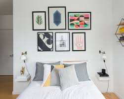 Bedroom Wall Graphic Design A Graphic Apartment For A Facebook Designer U2013 Homepolish