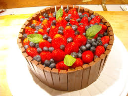 how to make a fruit basket chocolate fruit basket cake cooking and musings