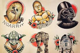 the best and worst star wars tattoos in the galaxy
