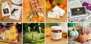 fall wedding favor ideas wedding ideas fall wedding favors