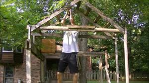 homemade ninja warrior obstacle course youtube