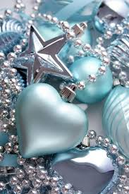Blue And Silver Christmas Decorations Pinterest by 9 Best Teal Christmas Images On Pinterest Christmas Ideas