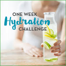 And Water Challenge One Week Hydration Challenge