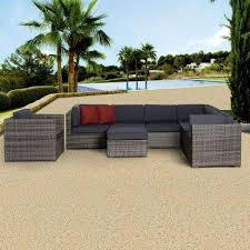 Outdoor Lifestyle Patio Furniture Marseille Patio Furniture Outdoors The Home Depot