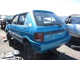 subaru justy junkyard find 1991 subaru justy 4wd the truth about cars