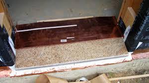 Overhead Door Threshold by Metal Door Footplate U0026 Exterior Door Threshold Detail Types Of