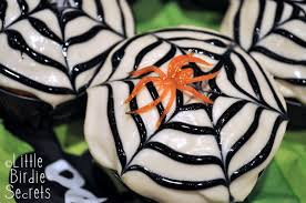 Halloween Cup Cakes by Halloween Spider Web Cupcakes Little Birdie Secrets