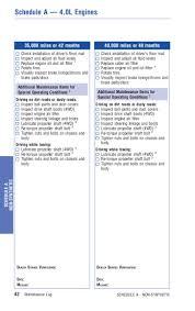 2013 toyota tacoma service schedule 2012 toyota tacoma warranty maintenance information