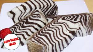 tips membuat bolu zebra cara membuat bolu kukus zebra enak praktis sederhana resep masakan