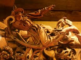 a beautiful wood carving in kevelaer germany