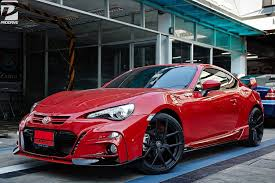 modified toyota gt86 modifications crazy tommykaira gt 86 with vorsteiner v101 mycarzilla