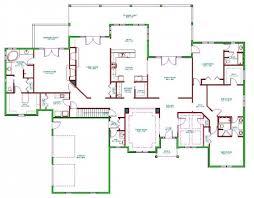 home floor plans color