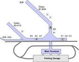 Chicago Ohare Terminal Map by Airport Transportation Serving Chicago South Suburbs 815 277 7870