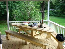 Diy Backyard Deck Ideas Surprising Outdoor Deck Table Ideas Exterior Large Umbrella With