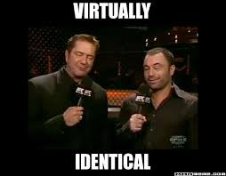 Mma Memes - virtually identical ufc rogan goldie mma meme the premiere
