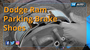 how to install replace rear parking brake shoe hardware 2007 10
