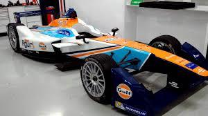 gulf car gulf oil will sponsor an all electric formula e racecar the drive