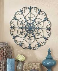 rod iron wall art home decor metal wall art medallion wrought iron home decor accent scroll