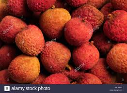 lychee fruit candy red and orange chinese lychee fruit stock photo royalty free