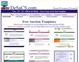 7 great sites to get beautiful free ebay auction templates web