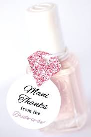 Thank You Favors by Nail Favor Tags Thank You Favors Shower Favor Tags