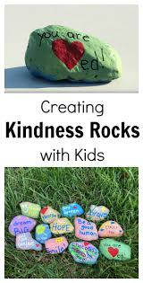 creating kindness rocks with kids no time for flash cards