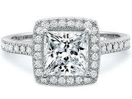 Wedding Rings Princess Cut by Princess Cut Halo Diamond Engagement Rings Custom Pave Princess