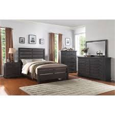Dark Gray Casual Contemporary  Piece Queen Bedroom Set - Bedroom sets at rc willey