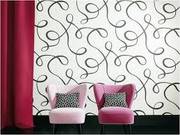 simple design wallpaper adhesive wall sticker