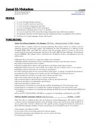 resume sample for quality assurance resume for your job application
