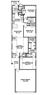 terrific narrow lot 4 bedroom house plans ideas best inspiration
