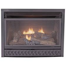 shop procom 28 75 in w 26 000 btu black vent free dual burner gas