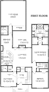 first floor house plan arts