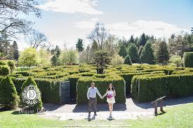 Vandusen Botanical Garden Wedding Engagement Photo Session At Vandusen Botanical Garden
