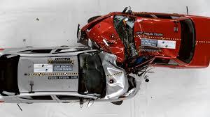 lexus vs mercedes crash test old car vs modern car which is safer versa vs tsuru crash test