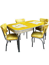 Yellow Kitchen Table And Chairs - outstanding yellow retro kitchen table and chairs 87 about remodel