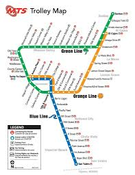 Portland Streetcar Map by San Diego U0027s Lovable U0027trolley U0027 Actually Three High Tech Light Rail
