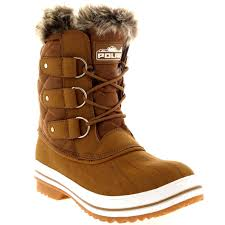 womens quilted boots uk womens quilted duck fur lined lace up muck winter