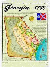 Confederate States Map by Original 13 States